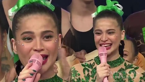 It's Showtime: Anne gets emotional after their world-class Magpasikat 2019 performance! Image Thumbnail
