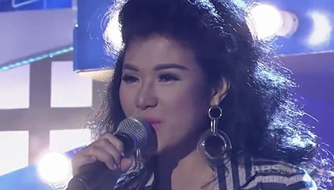 TNT Celebrity Champions: Ayana Christy sings Vision Of Love Image Thumbnail