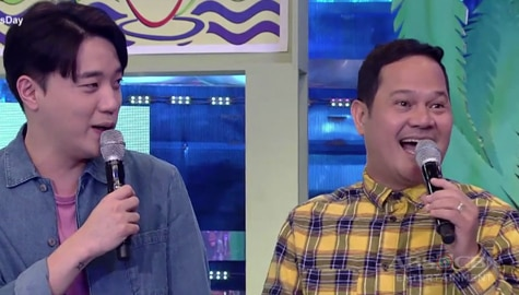 It's Showtime: Bayani, may request na kanta sa kanyang burol Image Thumbnail