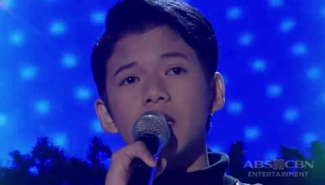 TNT Celebrity Champions Ang Huling Tapatan: Justin Alva sings All Of Me Image Thumbnail
