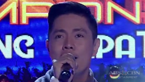 TNT Celebrity Champions Ang Huling Tapatan: DJ Onse sings The Greatest love Of All Image Thumbnail