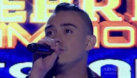 TNT Celebrity Champions Resbak: Jason Fernandez sings  U2's With Or Without You Image Thumbnail