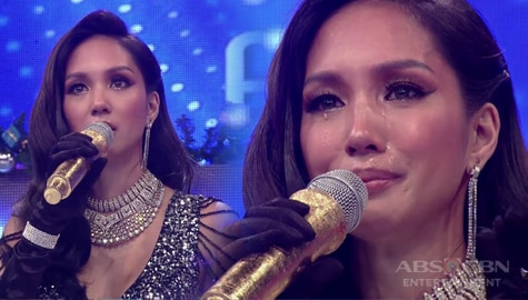 WATCH: Roxanne gets emotional on It's Showtime Image Thumbnail