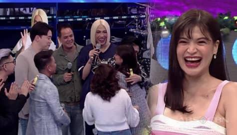 GOOD TIME! Panoorin kung paano ipinaalam ni Anne sa It's Showtime family ang kanyang pagbubuntis! Image Thumbnail