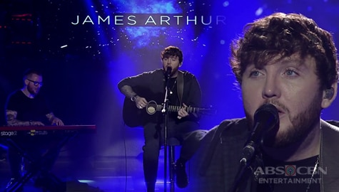 WATCH: James Arthur serenades madlang people on It's Showtime Image Thumbnail