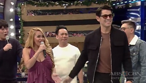 WATCH: Ethel, napaatras sa pagdating ni Richard Gutierrez sa It's Showtime! Image Thumbnail