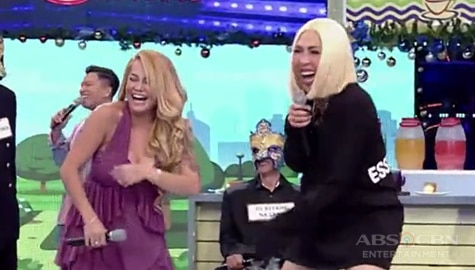 It's Showtime: Vice Ganda, natawa sa pagsasayaw ng buntis na si Ethel Image Thumbnail