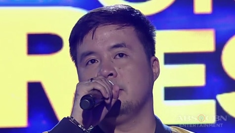 TNT All-Star Grand Resbak Round 1: Lucky Robles sings Forever Image Thumbnail