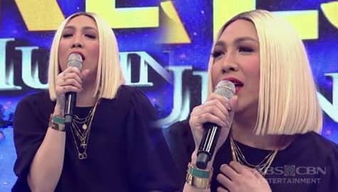 """It's Showtime: Vice Ganda, ginawan ng sexy version ang kantang """"Gummy Bear"""" Image Thumbnail"""
