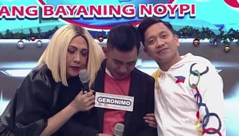 It's Showtime: Vice Ganda at Jhong, binigyan ng mahigpit na yakap si Biyahero Geronimo Image Thumbnail