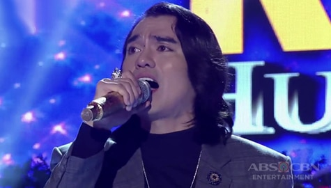 TNT All-Star Grand Resbak Huling Tapatan: Jex De Castro gives an all-out performance of Sarah Geronimo's hits!   Round 2 Image Thumbnail