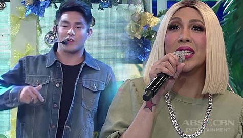 It's Showtime: Ion, may maikling rap para kay Vice Ganda Image Thumbnail