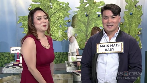 It's Showtime: Vacay Abad, napili si Mais Mais Baby bilang KapareWHO! Image Thumbnail