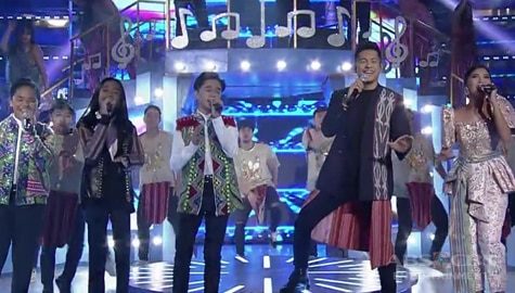 WATCH: Gary V., Elaine Duran and TNT Boys kick off Tawag Ng Tanghalan Year 4 with a spectacular performance! Image Thumbnail