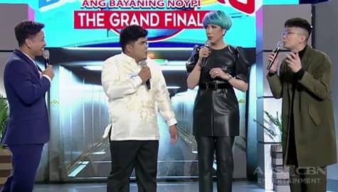 It's Showtime: Vice Ganda, natahimik sa pag-uusap nina Vhong, Jhong at Jerryco Image Thumbnail