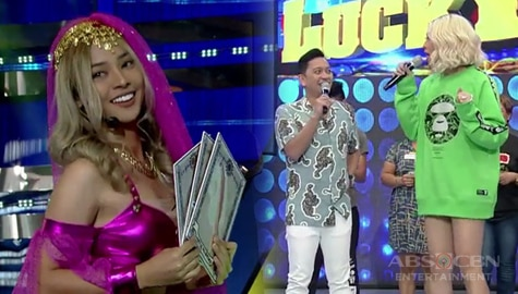 It's Showtime: Vice Ganda, nahuling nakanganga si Jhong sa pagpasok ni Genie-Nga! Image Thumbnail