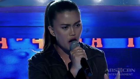 TNT 4: Mindanao contender Laika Olmoguez sings Adele's When We Were Young Image Thumbnail