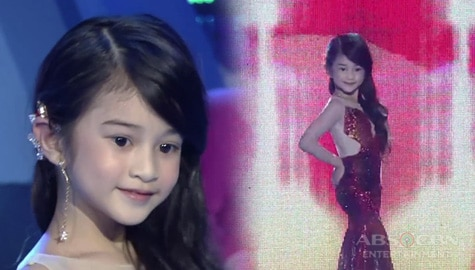 Mini Miss U Avi Moldez, pinahanga ang Madlang People sa kanyang Catriona Gray inspired Lava walk Image Thumbnail
