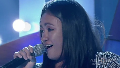TNT 4: Visayas contender Shiela Boniel sings Diamonds Are Forever Image Thumbnail