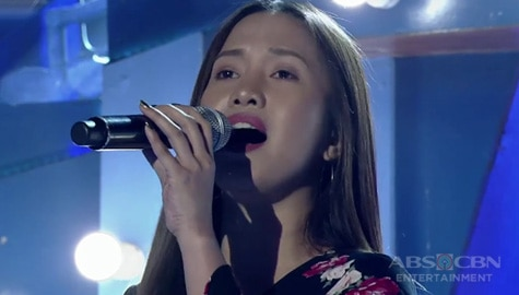 TNT 4: Metro Manila contender Antonette Edar sings Someone That I Used To Love Image Thumbnail