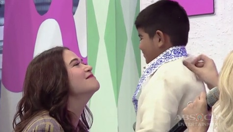 It's Showtime: Yorme, hindi kayang titigan ng matagal si Bela Image Thumbnail