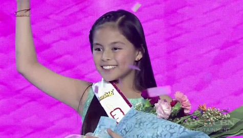 It's Showtime: Kate Ramos, itinanghal na Mini Miss U of the day! Image Thumbnail