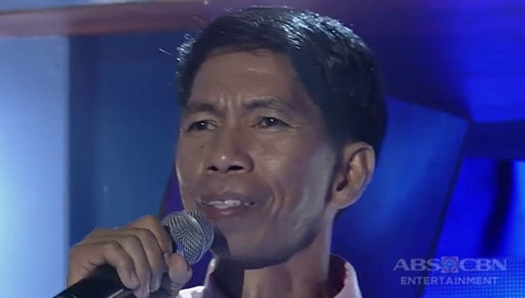 TNT 4: Mindanao contender Rico Mapa sings I Can't Stop loving You Image Thumbnail