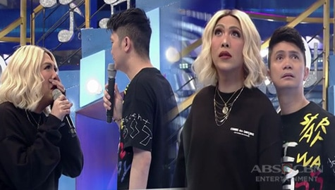 WATCH: Vice Ganda and Vhong just did a live version of I Have A Lover on It's Showtime Image Thumbnail