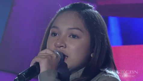 TNT 4: Mindanao contender Aiwe Mae Sabuero sings I'm WIth You Image Thumbnail
