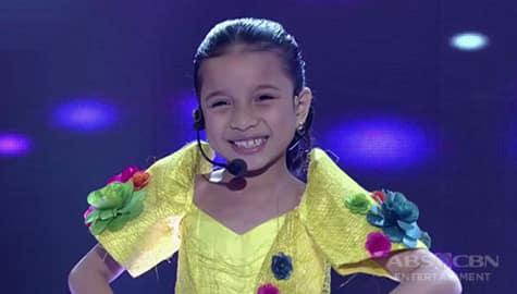 It's Showtime: Tula para sa Taal mula sa isang Mini Miss U candidate Image Thumbnail