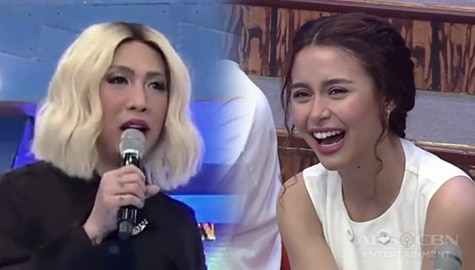 It's Showtime: Vice Ganda, tinanong ang bilang ng off shoulder dress ni Yassi Image Thumbnail