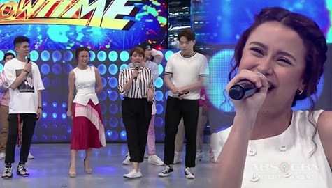 WATCH: Yassi Pressman as guest co-host on It's Showtime! Image Thumbnail