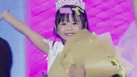It's Showtime: Trisha Andrada, wagi bilang Mini Miss U of the Week! Image Thumbnail