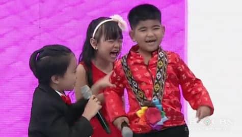 It's Showtime: Yorme, muling nahamon sa aktingan kasama sina Enzo at Trisha Image Thumbnail