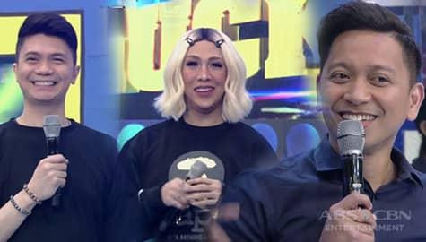 It's Showtime: Vice, Vhong at Jhong, pinahulaan ang edad nila sa isang foreigner sa madlang people Image Thumbnail