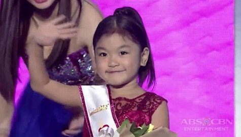 It's Showtime: Alessandra Espina, itinanghal na Mini Miss U of the day Image Thumbnail