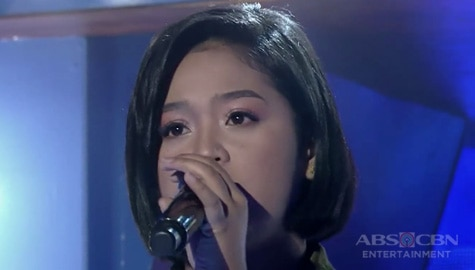 TNT 4: Mindanao contender Nikole Kyle Bernido sings Cry Just A Little Image Thumbnail
