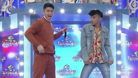 It's Showtime: Vhong, nakipag-showdown ng Catriona dance kay TNT contender Martin Image Thumbnail