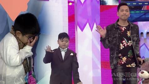 It's Showtime: Yorme, hindi nakasabay sa Switch It Up dance nina Jhong at Uno Bibo Image Thumbnail