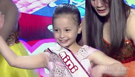 It's Showtime: Victoria Rose Resl, itinanghal na Mini Miss U of the day! Image Thumbnail