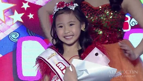 It's Showtime: Yndra Fernandez, itinanghal na Mini Miss U of the day! Image Thumbnail