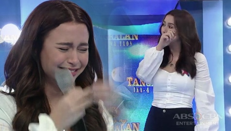 WATCH: Why Yassi Pressman gets emotional on It's Showtime