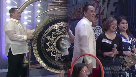 It's Showtime: Direk Bobet, naging gongbassador kapalit ni Jhong Image Thumbnail