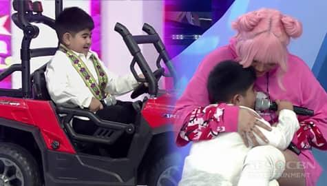 It's Showtime: Yorme, nakuha na ang hiling na regalo mula kay Vice Image Thumbnail