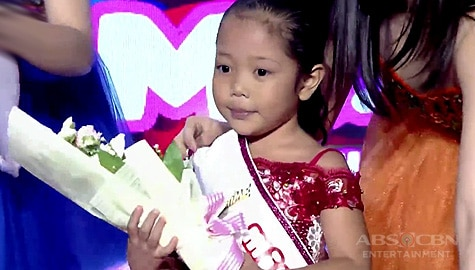 It's Showtime: Faith Odevilas, itinanghal na Mini Miss U of the day! Image Thumbnail