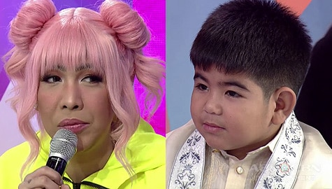 It's Showtime: Yorme, nahuli ni Vice Ganda na may hawak na manok