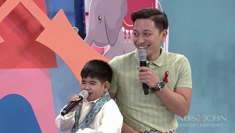 It's Showtime: Jhong, nagulat nang bigla siyang kurutin sa pwet ni Yorme Image Thumbnail