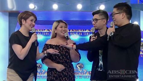 "Its Showtime: ""Na-back to you ako"" Tyang Amy, hindi nasagot ang tanong ni Jugs"