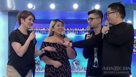"""Its Showtime: """"Na-back to you ako"""" Tyang Amy, hindi nasagot ang tanong ni Jugs Image Thumbnail"""