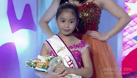 It's Showtime: Riana Villaceran, itinanghal na Mini Miss U of the day! Image Thumbnail